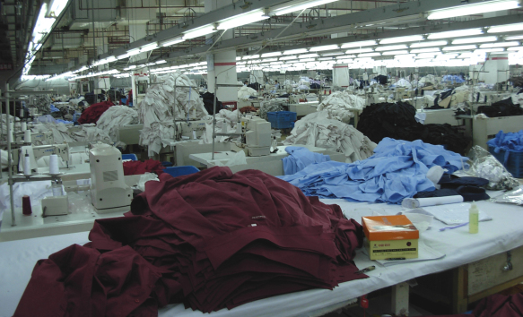 Textil Produktion Europa © michel corporate fashion