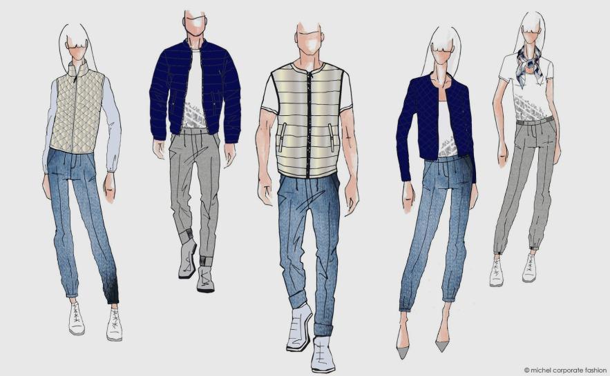 Firmenbekleidung und Unternehmensbekleidung