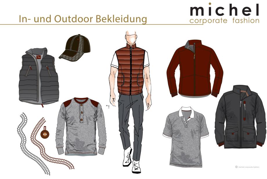 Mitarbeiterbekleidung © michel corporate fashion
